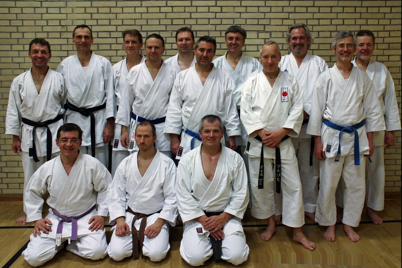 Karate - Training mit Harald Strauss